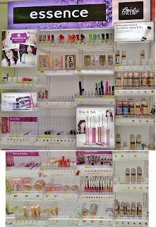 NEW Essence Bairly Sheer cosmetics display TARGET stores makeup drugstore haul