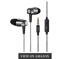 PTron Pride best earphones for bass and sound quality