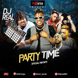 MIXTAPE: DJ Real – Party Time (Special Mix)