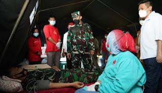 HUT ke-64 Kodam Hasanuddin Gelar Donor Darah
