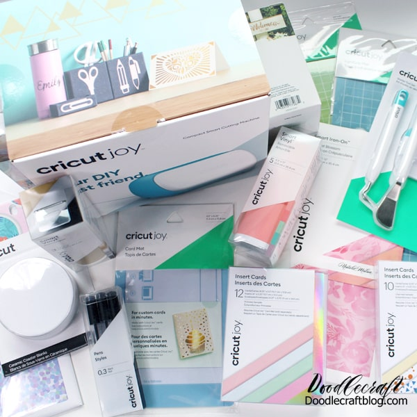 Cricut joy and the smart line of products to use with the newest cricut machine.
