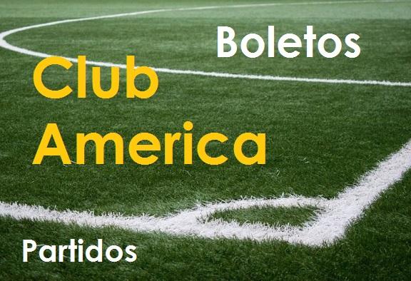 Club America Boletos y partidos