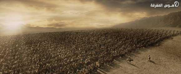 معركة بين المسلمين والروم بقيادة خالد بن الوليد