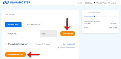 Cara membeli domain murah