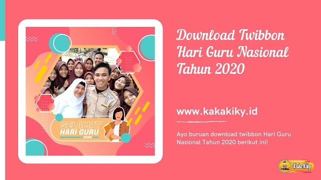 download twibbon hari guru terbaru
