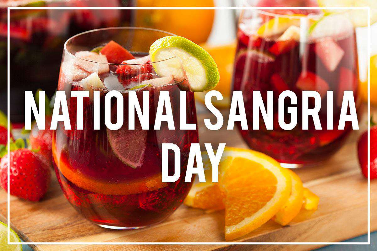 National Sangria Day Wishes Sweet Images