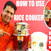 HOW TO USE RICE COOKER | RICE COOKER REVIEW | RICE COOKER SIZE | Electric Rice Cooker Demo