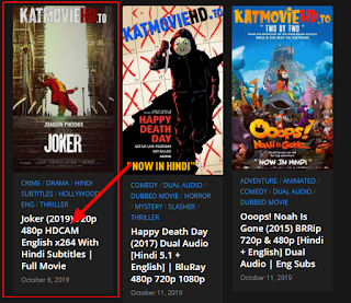 movie downloading