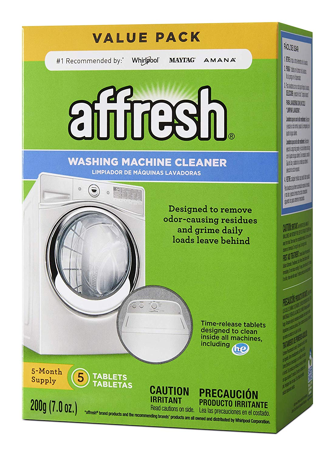 Affresh Washing Machine Tabs
