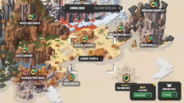 Cara Membuka Level Rahasia Lower Temple di Minecraft Dungeons-1