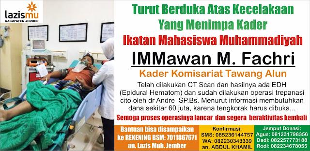 Donasi untuk Immawan M. Fakhri