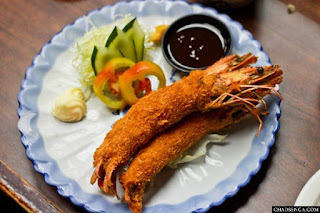Ebi Shrimp Fry, Authentic Japanese Cuisine at Nihonbashi Tei