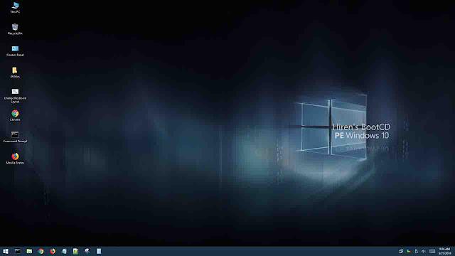 Hiren's Luncurkan versi BootCD PE Dengan Tampilan Windows 10, Ayo Coba