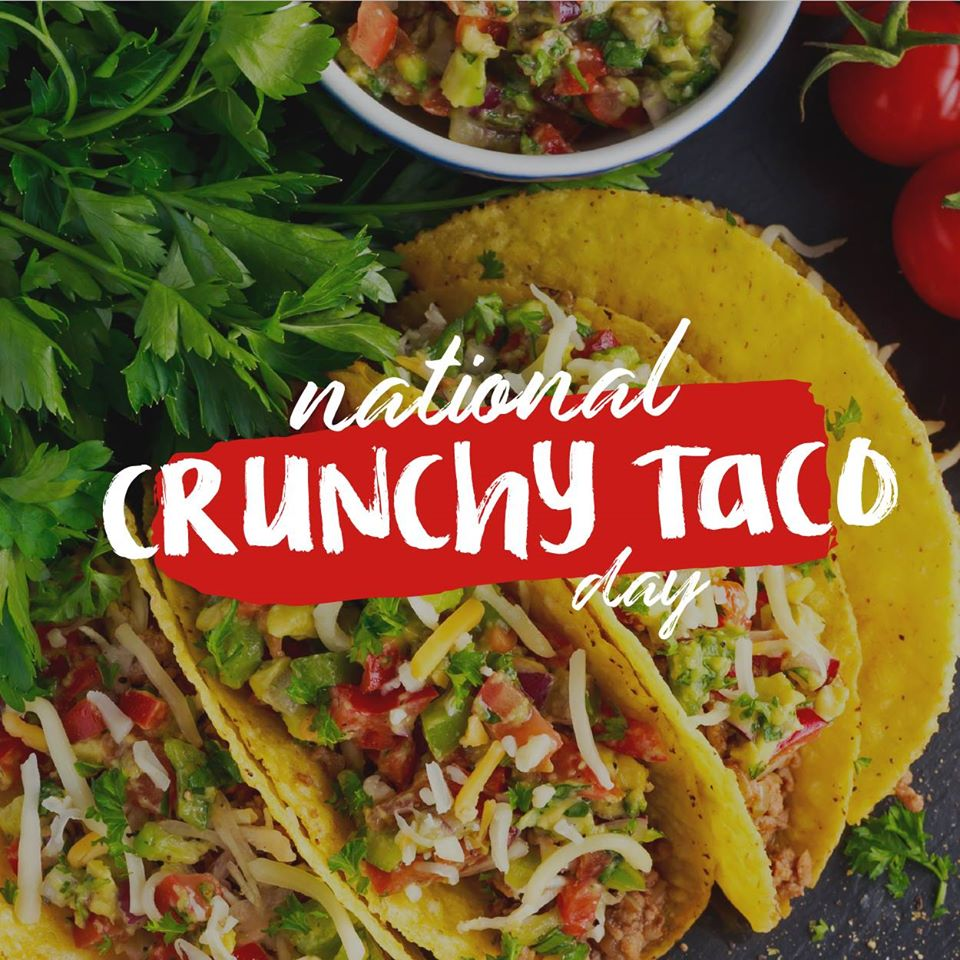 National Crunchy Taco Day Wishes pics free download