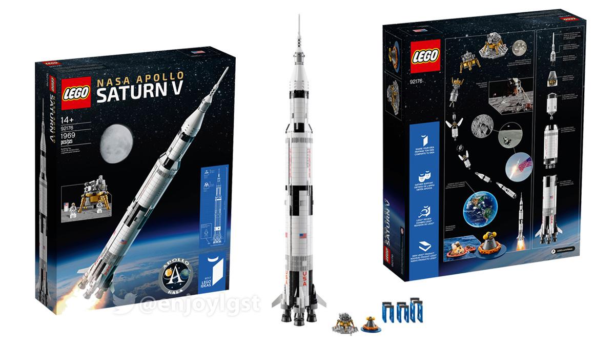 海外レゴ公式で11/1(日)発売!92176 NASA アポロ計画 サターンV:レゴ(LEGO) アイデア:製品・価格情報(2020)