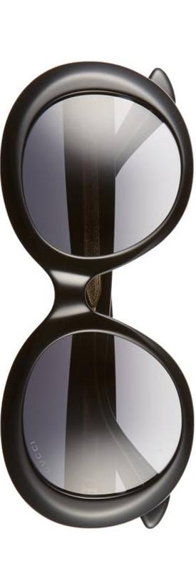 Gucci 51mm Gradient Lens Round Sunglasses