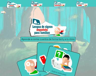 Web gratis para que las familias aprendan lengua de signos