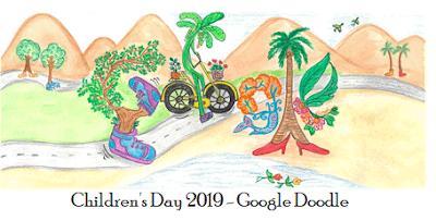 Children's Day 2019 - Google Doodle
