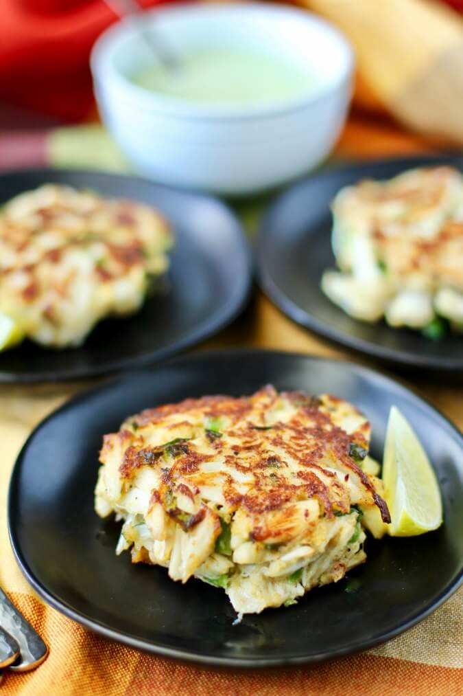 Crab Cakes with Jalapeño Aioli