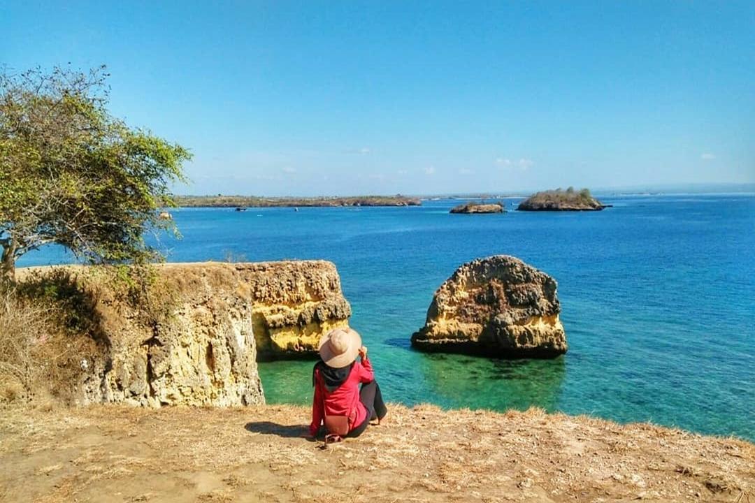 Gambar Pantai Pink Lombok by @ruhana_hanifan