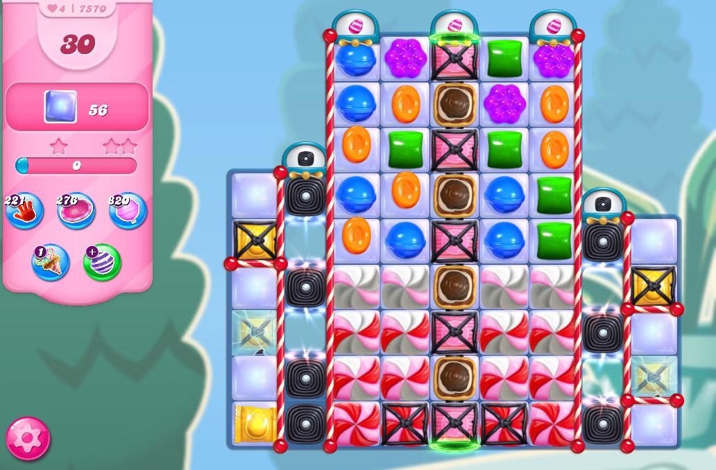 Candy Crush Saga level 7570