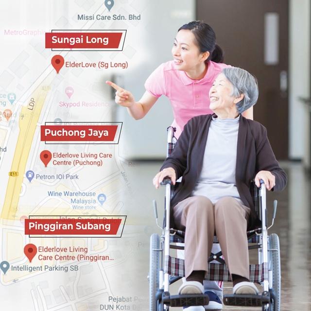 Elderlove Missi, One Stop Elderly Care, Nursing Homes in Malaysia, Missi Care, Assisted Living, Caregiver, Lifestyle
