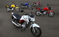 Vendas de motocicletas caem 9%