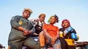 Eniola Badmus, Funke Akindele-Bello, Chioma Chukwuka & Bimbo Thomas in 'Omo Ghetto' (The Saga) movie [Instagram/@omoghettothesaga]