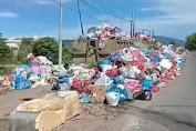 JorokNya! Sampah Aceh Besar Menumpuk Lagi di Lintas Jalan Sukarno Hatta