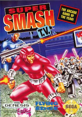Portada videojuego Super Smash TV