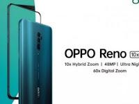 Spesifikasi Harga Oppo Reno & Reno 10X Zoom Menggunakan Lensa Telephoto