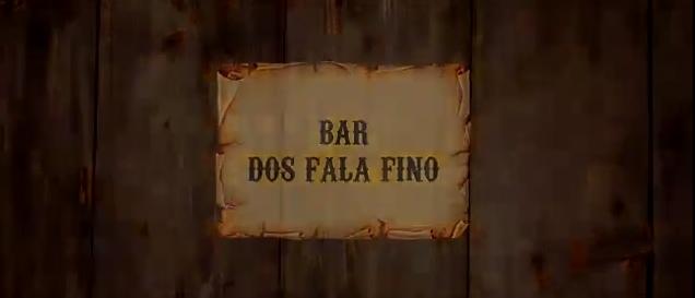 """Vejam: """"Bar dos Fala Fino""""... Muito bom!!"""