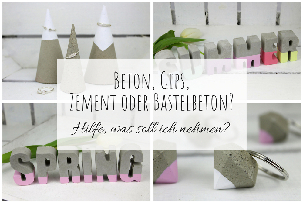 beton gips zement oder bastelbeton hilfe was soll ich zum basteln verwenden vor und. Black Bedroom Furniture Sets. Home Design Ideas