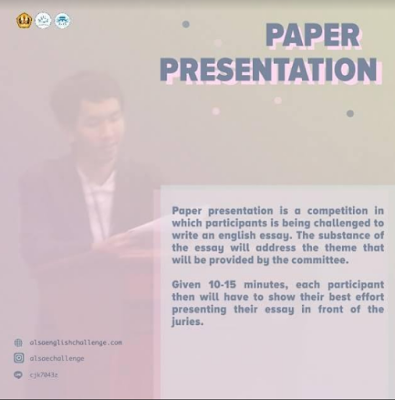 Paper Presentation Competition 2018 di Unpad, Univeritas Panjajaran