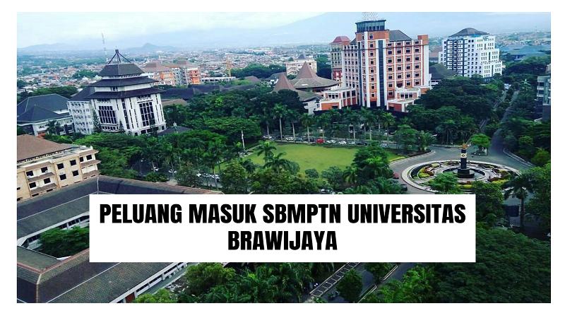 Peluang Masuk SBMPTN UB 2021/2022 (Universitas Brawijaya)