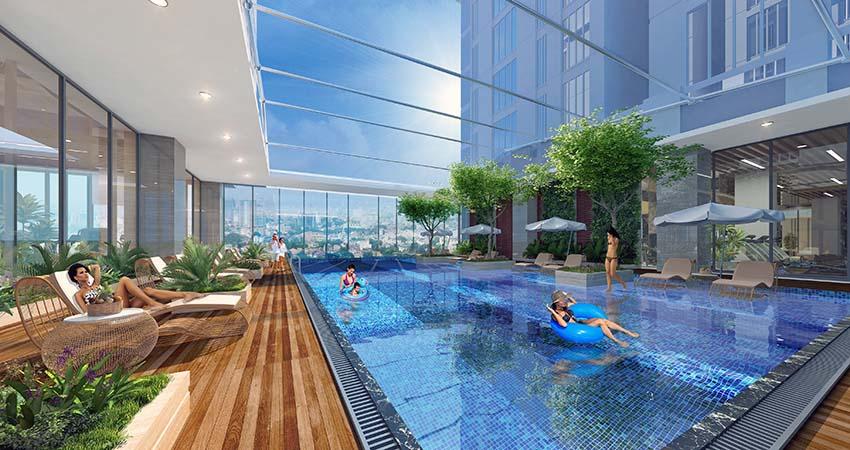 Bể bơi dự án Sun Group Nguyễn Khoái