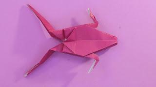 Hướng dẫn cách gấp giấy origami hình con vật đơn giản bằng giấy