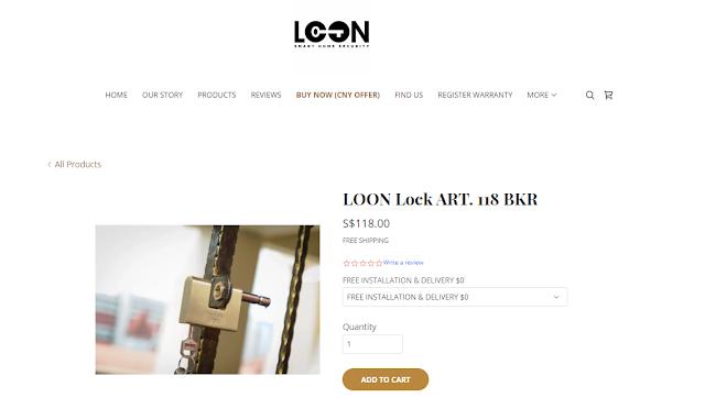 Loon Lock Website