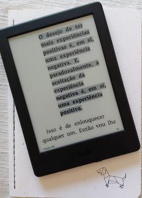 Trecho do livro A Sutil Arte de Ligar o Foda-se