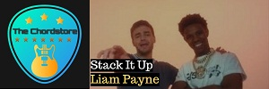 Liam Payne - STACK IT UP Guitar Chords (ft. A Boogie Wit Da Hoodie)
