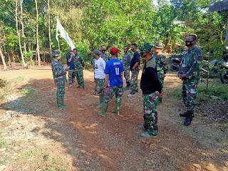 Batih Bakti TNI Terus Ingatkan Kepada Anggota Satgas TMMD Pada Apel Pagi