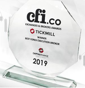 Penghargaan Eksekusi Broker Forex Terbaik untuk TICKMILL