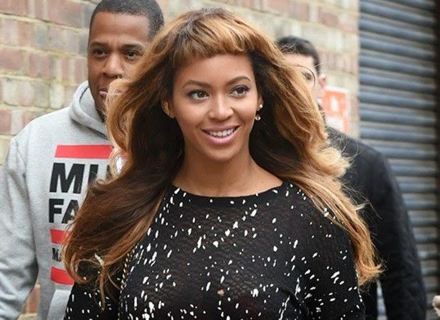 Beyonce Franja curta