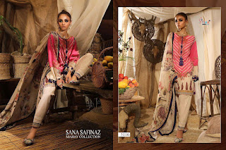 Shraddha Designer Sana Safinaz Lawn pakistani Suits Mahey collection