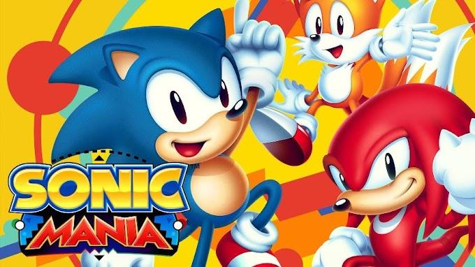Sonic Mania estará de graça na Epic Games Store na próxima semana