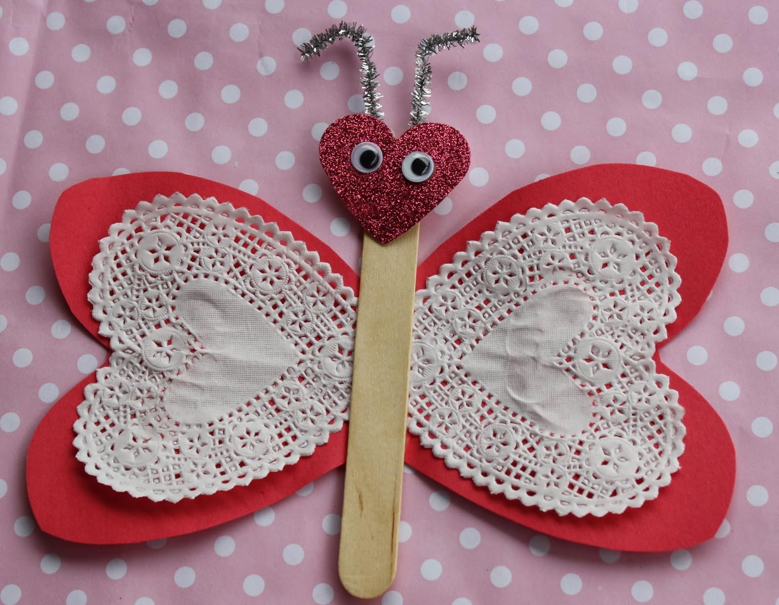 Crafts Using Heart Doilies