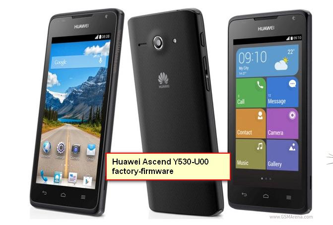 Huawei Ascend Y530-U00 factory-firmware-flash-file-Free