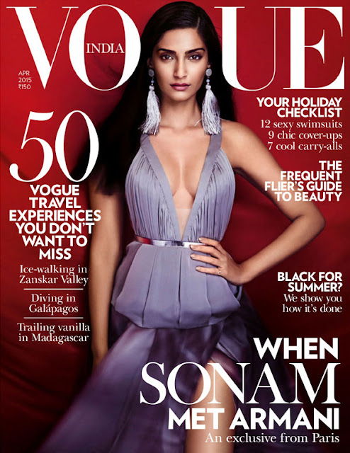Sonam Kapoor's Hot Vogue Magazine Photo-shoot