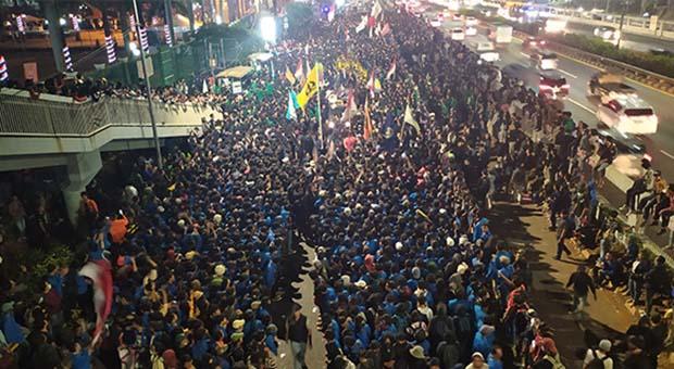 Rusuh Demo Mahasiswa dan STM Terjadi akibat Propaganda Medsos