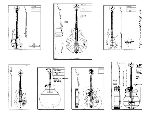 Guitar cad blocks free download - 10+ Dwg Guitar Models